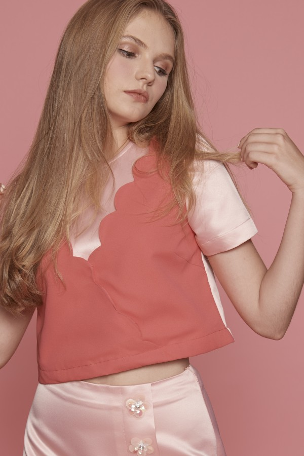 Sweety Pink Blouse